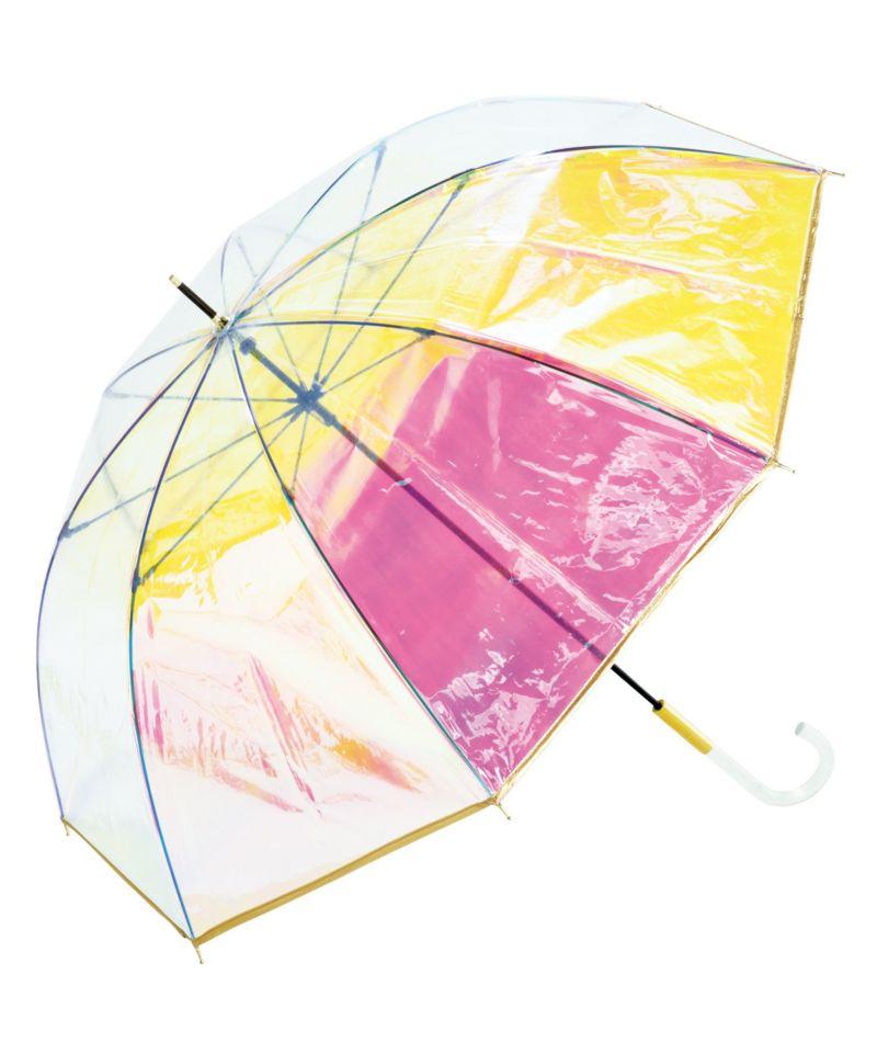 雨傘 ビニール傘 パイピング オーロラ