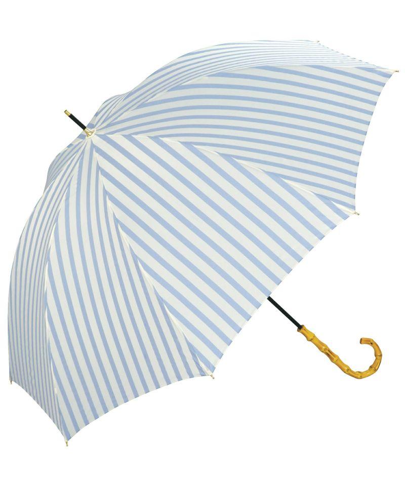雨傘 長傘 ベーシックバンブーアンブレラ