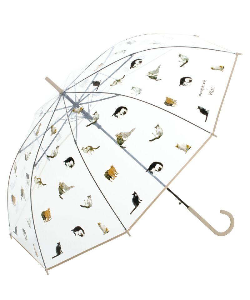 雨傘 ビニール傘 沖昌之さん×Wpc. プラスティックアンブレにゃん